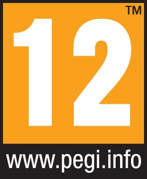 PEGI Alterskennzeichnung 12