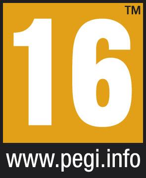 PEGI Alterskennzeichnung 16