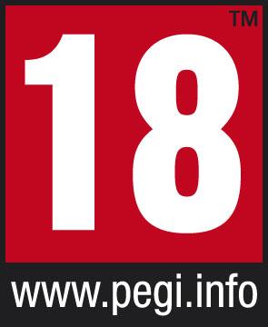 PEGI Alterskennzeichnung 18