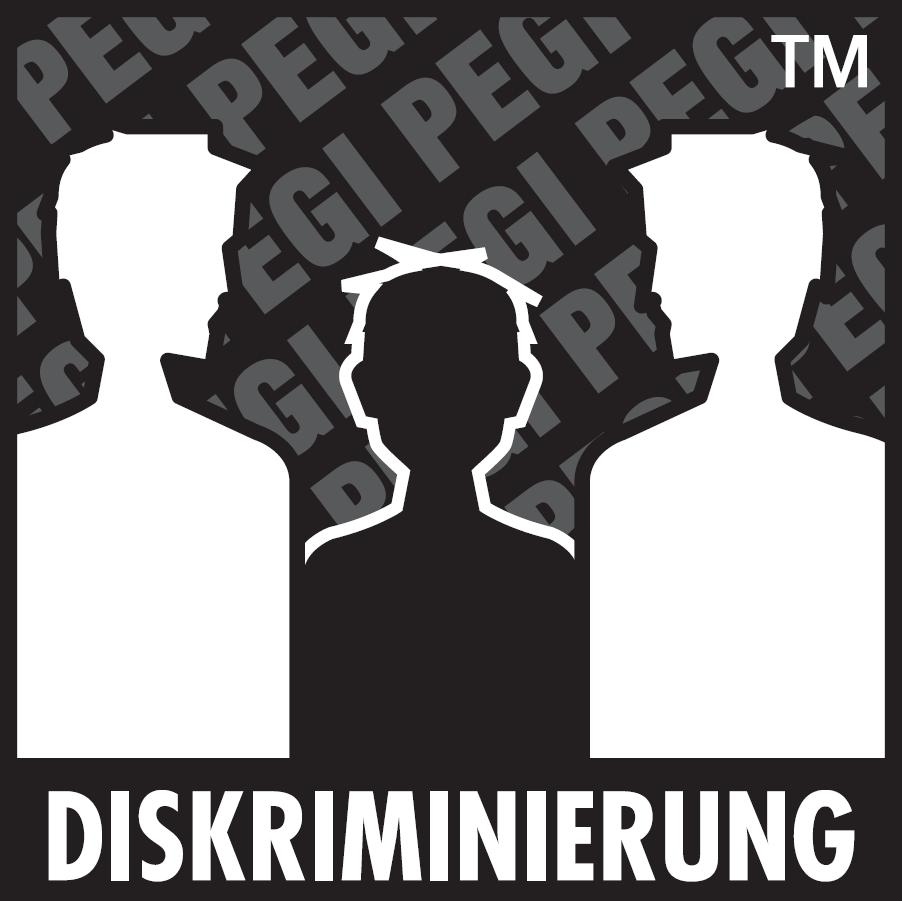 PEGI Inhaltsbeurteilung Diskriminierung