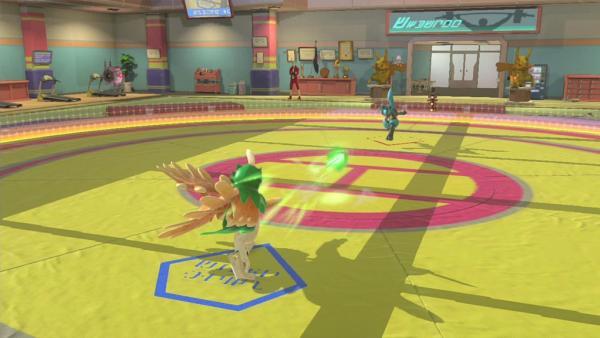 Screenshot: ein Arenakampf