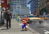 screenshot:Mario läuft durch eine Stadt.