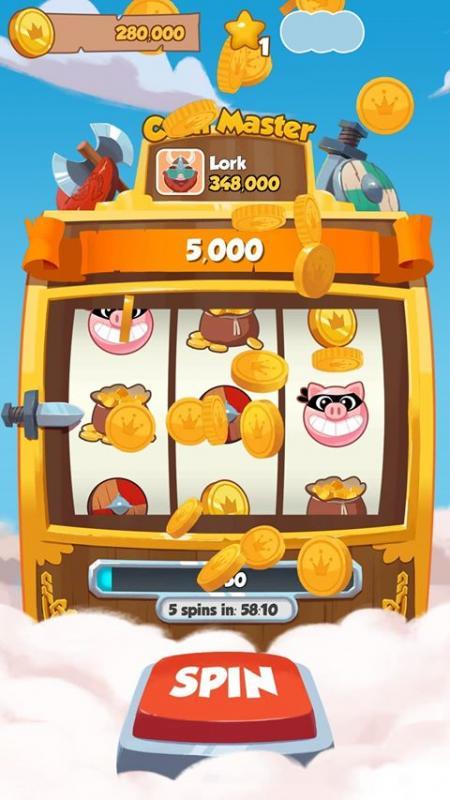 """Automat im Spiel """"Coin Master"""", Screenshot Markus Meschik"""
