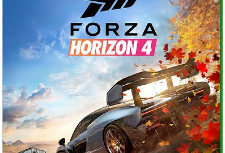 Packshot des Spiels Forza Horizon 4