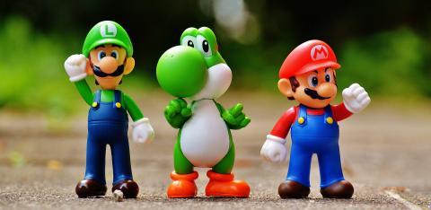 Figuren aus bekannten Nintendo Spielen